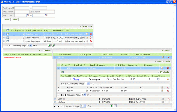 DataForm.NET Screenshot