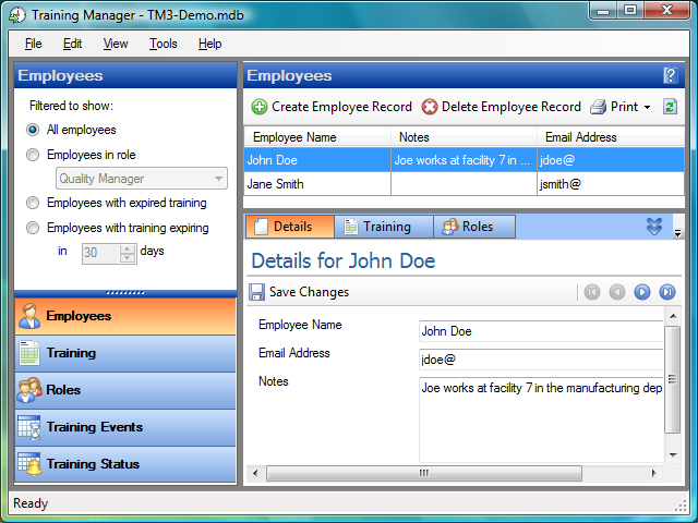 Trainiing Manager 3 Screenshot