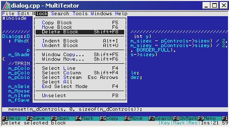 MultiTextor Screenshot 1