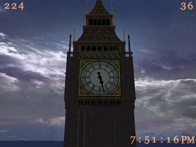 Big Ben 3D Screensaver Screenshot 1