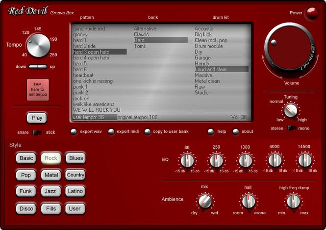 Drum Machine Screenshot