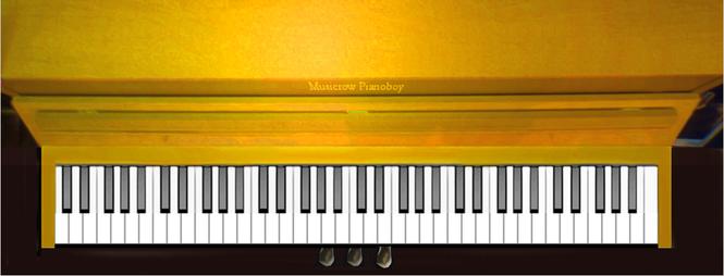 PianoBoy- Virtual Piano VST Screenshot 1