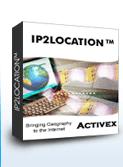 IP2Location Geolocation ActiveX/COM Component Screenshot