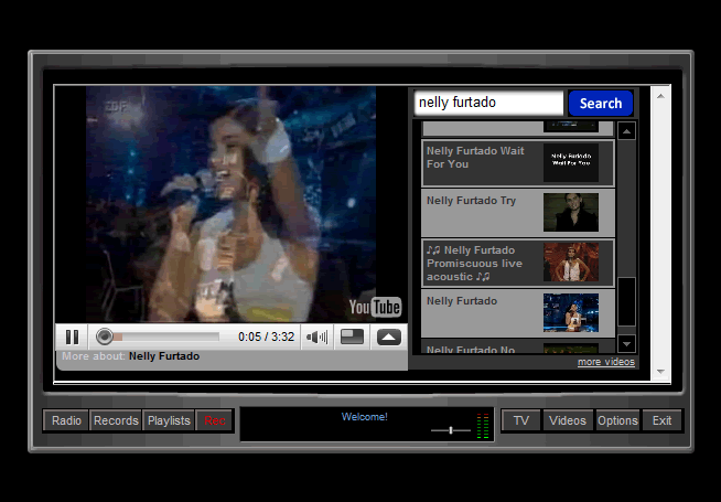 RadioFreeTV.NET Screenshot 1