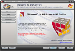 DBConvert for Access & MS FoxPro Screenshot