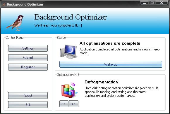 tweaker for window xp Screenshot