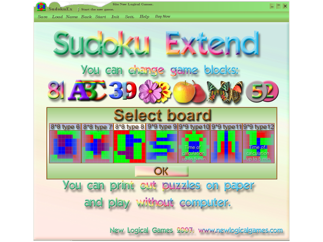 Addin Sudoku Extend Screenshot 1