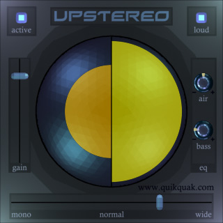 UpStereo Screenshot