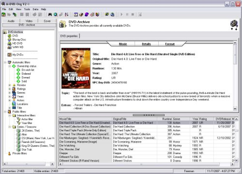 M-DVD.Org V2 - DVD-Manager Screenshot