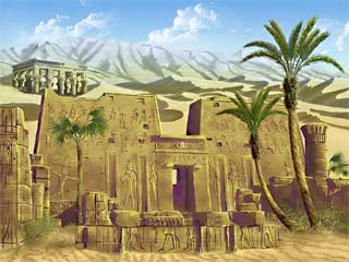 Egyptian Screensaver Screenshot