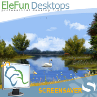 Spring Lake - Animated Screensaver Screenshot