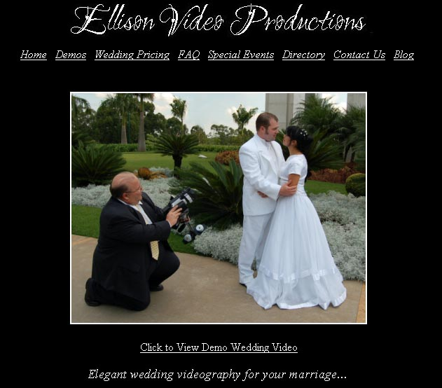 Utah Wedding Videos Screenshot