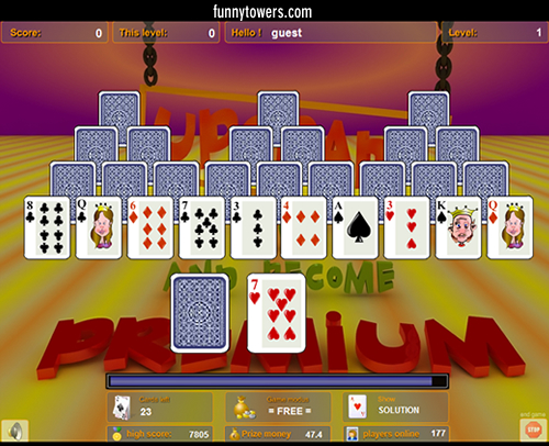 Funnytowers Portable Screenshot 1