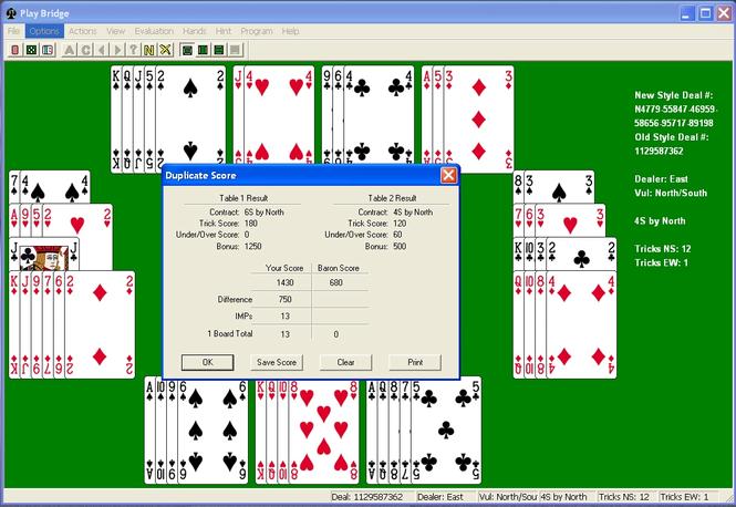 Bridge Baron Express Screenshot