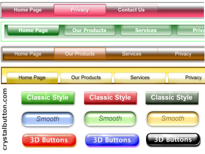 Flash Buttons InMotion! 2008 Screenshot