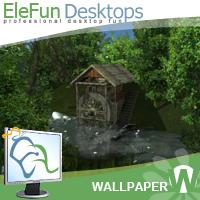 Water Mill - Animated Wallpaper Screenshot 1