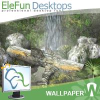 Amazing Waterfall - Animated Wallpaper Screenshot 1