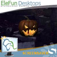 Halloween - Animated Screensaver Screenshot
