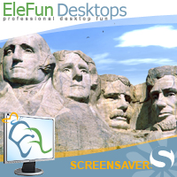 The Mount Rushmore - Animated Screensaver Screenshot 1