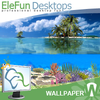 Coral Island - Animated Wallpaper Screenshot 1