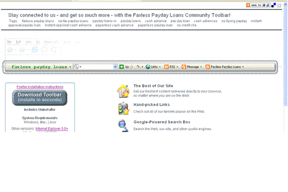 Faxless Payday Loans Screenshot