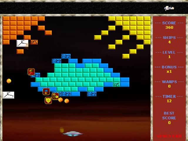 Phaser Ball Screenshot