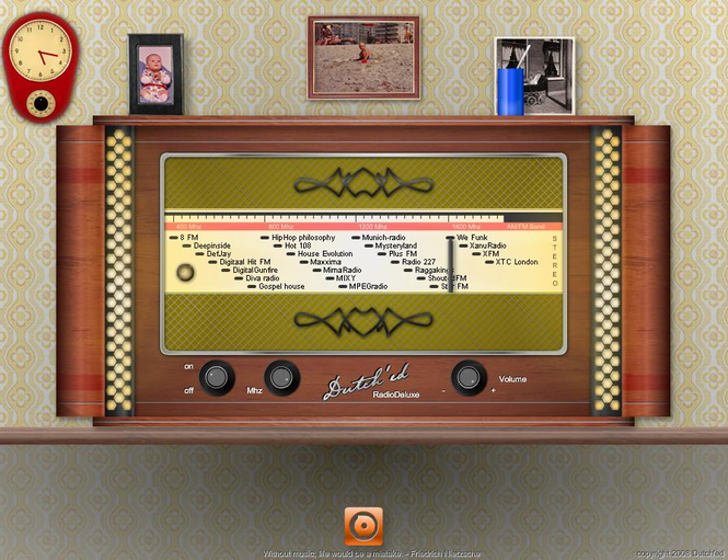RadioDeluxe Screenshot 1