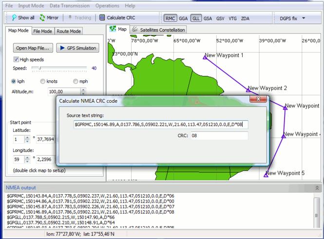GPS Generator PRO Screenshot
