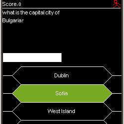 Capitals trivia Screenshot