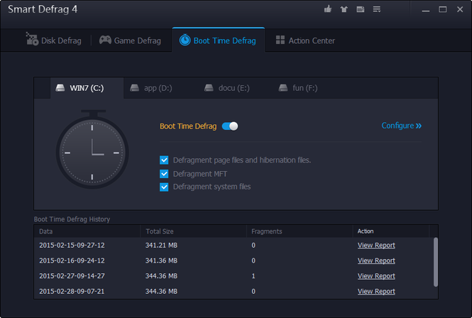Smart Defrag Screenshot 23