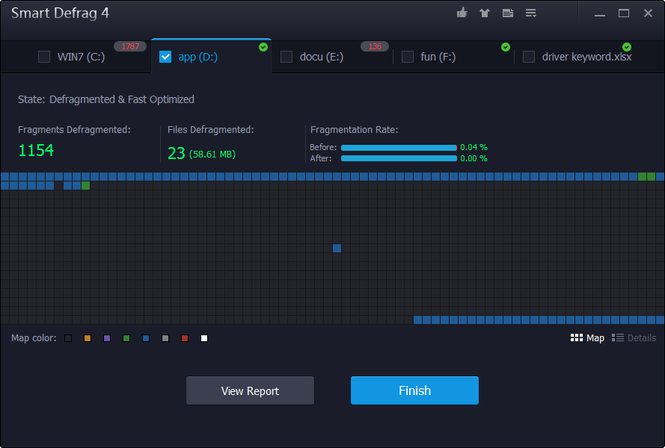 Smart Defrag Screenshot 21
