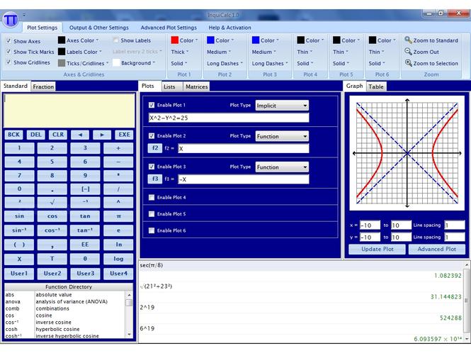 InquiCalc Screenshot 2