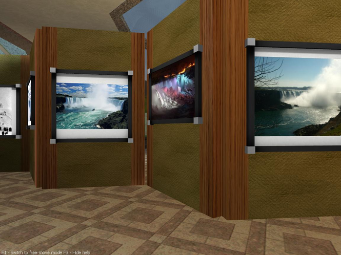niagara falls hotel Screensaver Screenshot