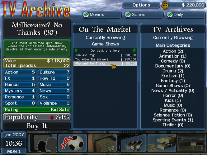 TV Station Manager Screenshot