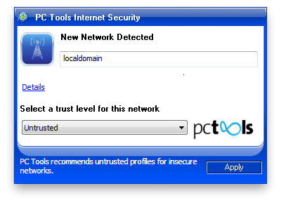 PC Tools Internet Security Screenshot 2