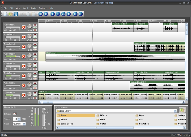 LoopWorx Hip Hop Edition Screenshot 1