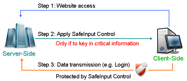 SafeInput Control Screenshot 1