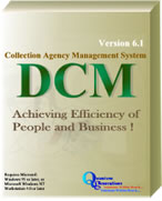 DCM Collection Agency Management System Screenshot