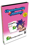 Championship Rummy Pro Card Game for Pocket PC Screenshot 1