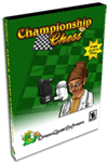 Championship Chess Pro Card Game for Palm OS Screenshot 1