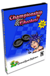 Championship Checkers Pro Card Game for Pocket PC Screenshot 1