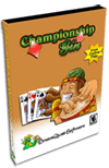 Championship Gin Pro Card Game for Windows Screenshot
