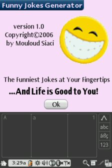 Funny Jokes Generator Screenshot