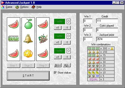 Advanced Jackpot Screenshot