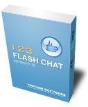 123 Flash Chat Server (Unlimited users) Screenshot 1