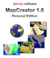 MapCreator 1.0 Personal Edition deutsch Screenshot