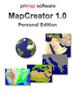 MapCreator 1.0 Personal Edition deutsch 1