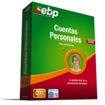 EBP Cuentas Personales 2008 Screenshot 1