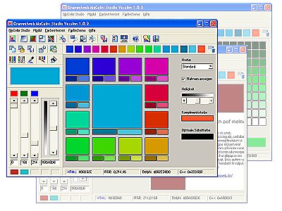 Grammiweb MyColor Studio Screenshot