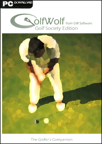 GolfWolf Golf Society Edition Screenshot